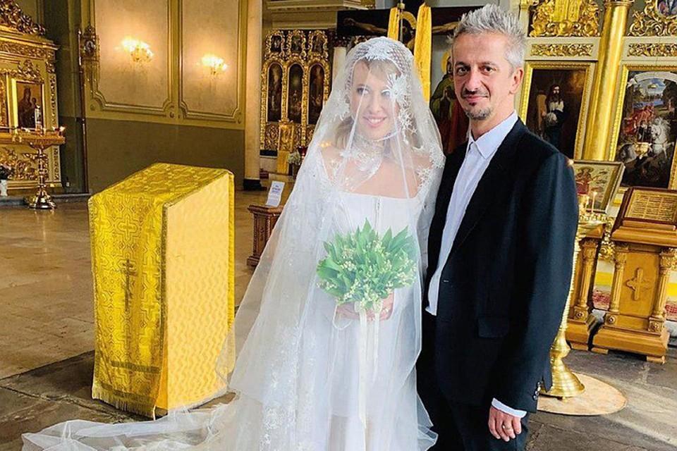 Эпатажная свадьба Ксении Собчак и Константина Богомолова состоялась 13 сентября