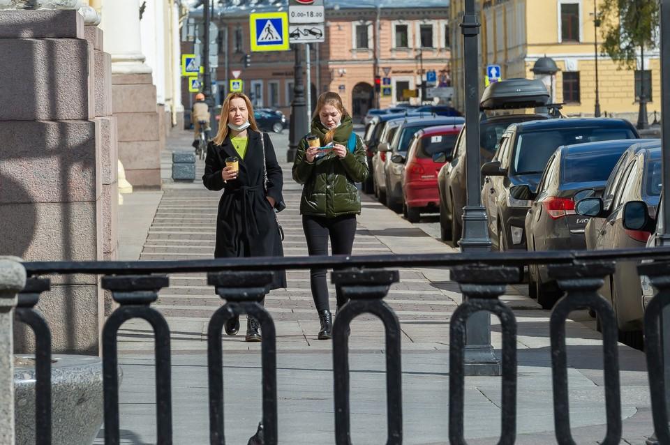 Петербуржцы установили очередной антирекорд по уровню самоизоляции 29 мая 2020 года