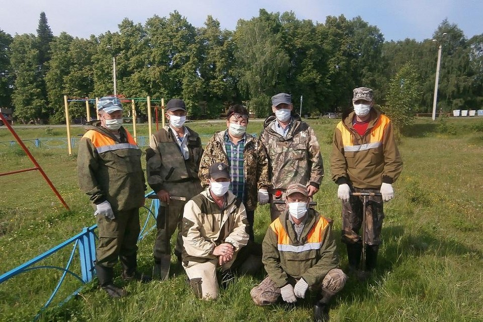 В Вагайском районе высадили «Сад Памяти»