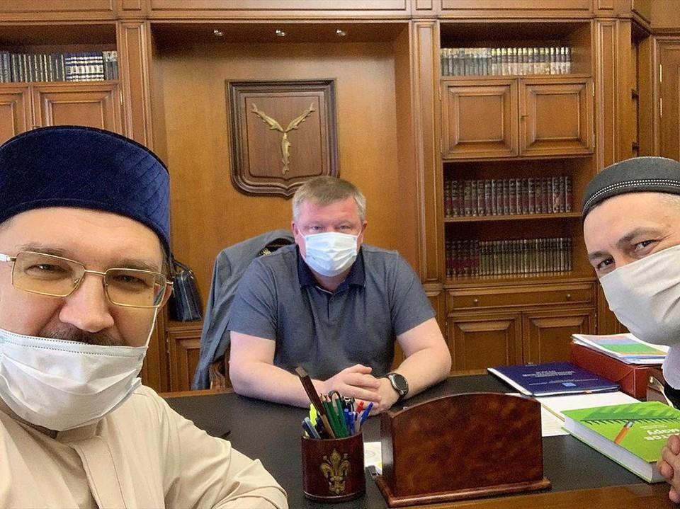 Бибарсов встретился с мэром 23 мая, а уже через неделю у муфтия обнаружили коронавирус