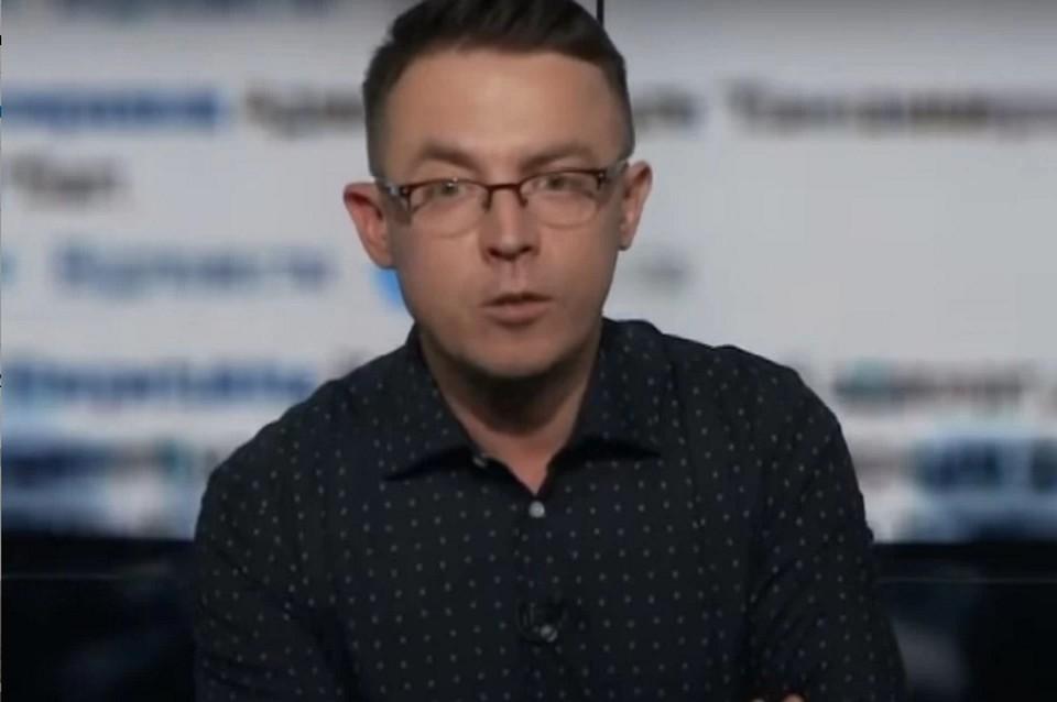 Украинский журналист и писатель Остап Дроздов. Фото: кадр из видео