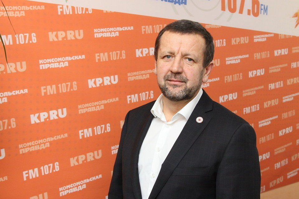 Вице-президент Федерации северной ходьбы УР Михаил Пасынков