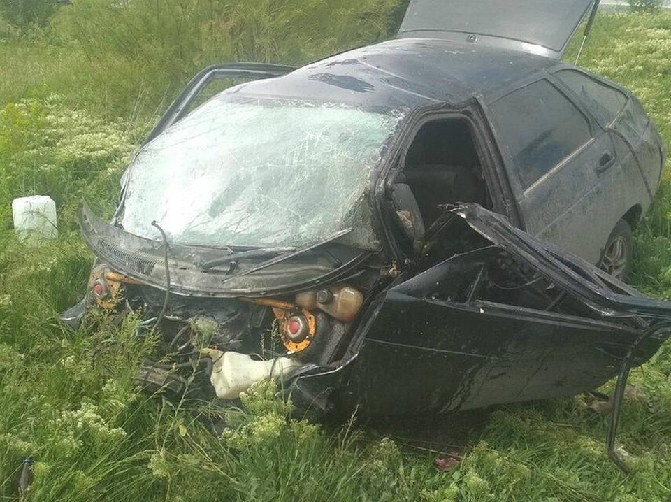Водитель погиб мгновенно. Фото: ПСС Самарской области