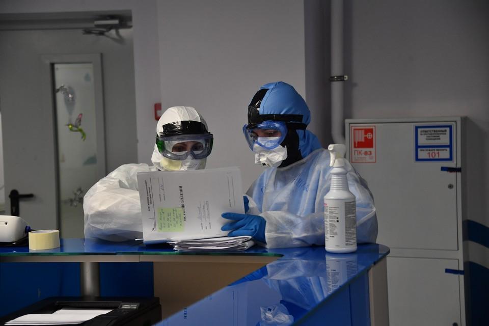 По данным областных властей, 67 процентов заболевших коронавирусом уже вылечили.