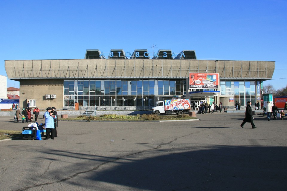 Автовокзал Барнаула.