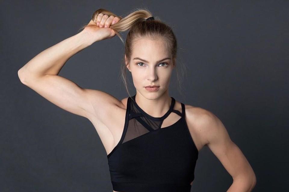 Российская легкоатлетка Дарья Клишина.