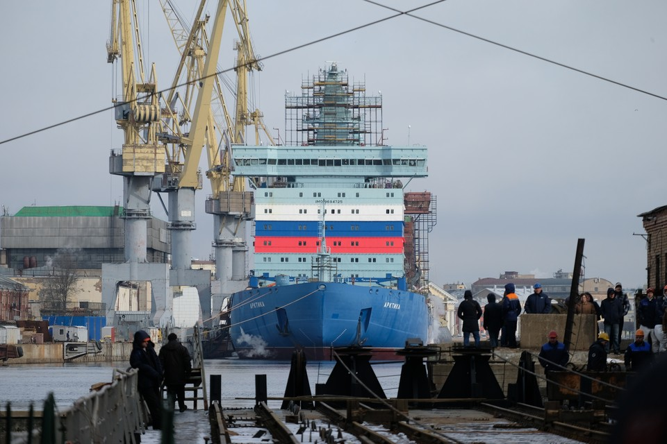 Головным судном проекта стала «Арктика».