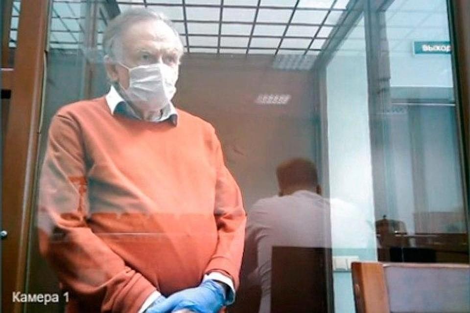 Олег Соколов заявил об уликах в ноутбуке убитой аспирантки Фото: Санкт-Петербургский городской суд