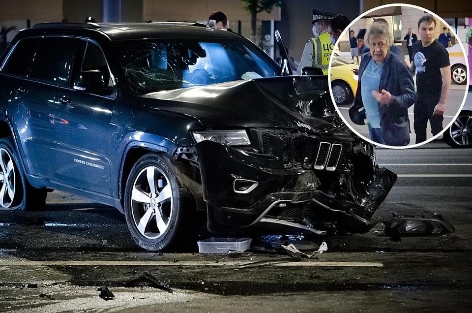 Авария произошла вечером 8 июня на Садовом кольце Фото: Роман Канащук/ТАСС
