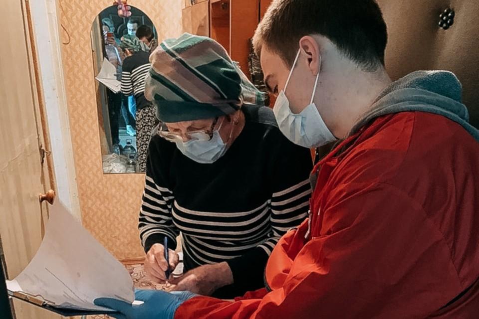 В ситуации с создавшейся эпидемической обстановкой самыми незащищенными остались пожилые и малообеспеченные граждане. Фото: предоставил Марк Ефременко