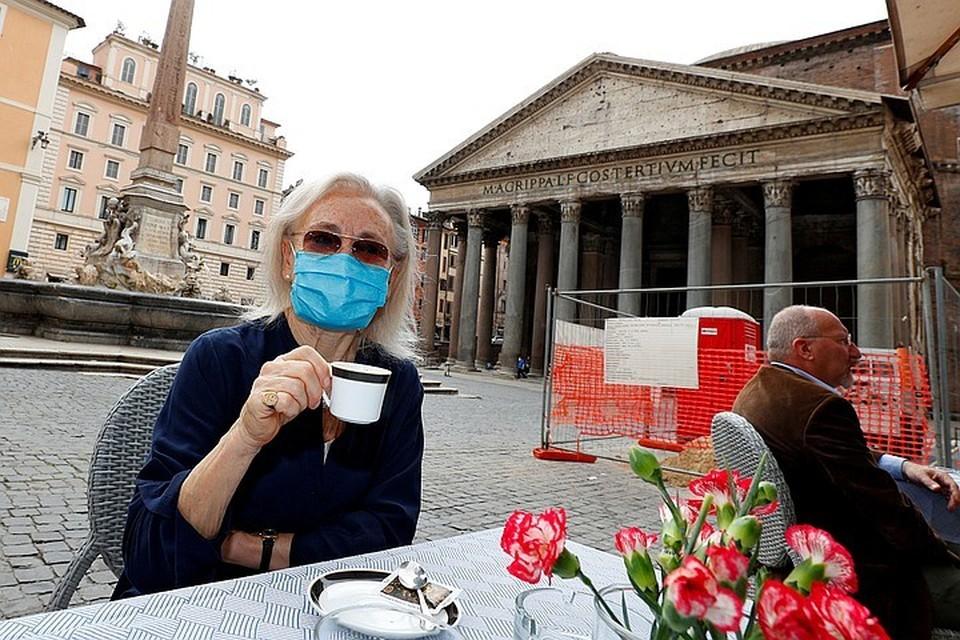 Коронавирус в Италии, последние новости на 12 июня 2020: кафе и рестораны уже открылись
