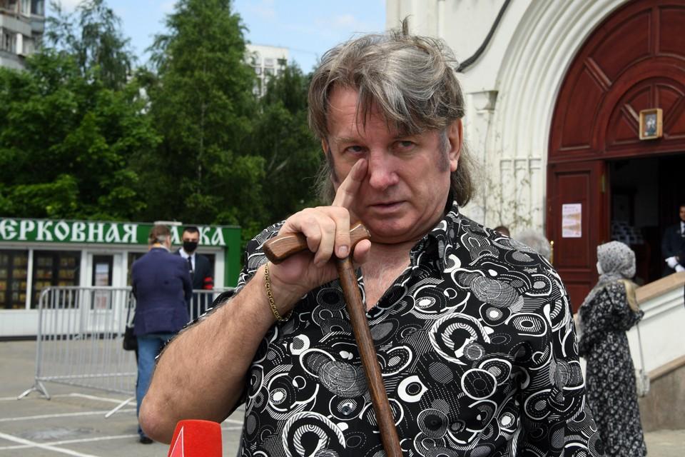 Музыкант Юрий Лоза на церемонии был растроган и даже прослезился