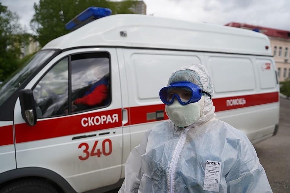 Число инфицированных коронавирусом в России за сутки возросло на 8246 человек