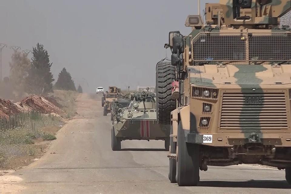 В Сирии подорван российский БТР