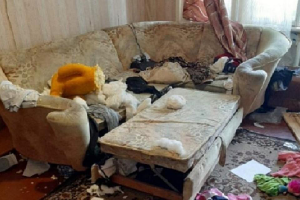 В Югре мать оставила четверых детей без еды в антисанитарии. Фото: УМВД по ХМАО-Югре