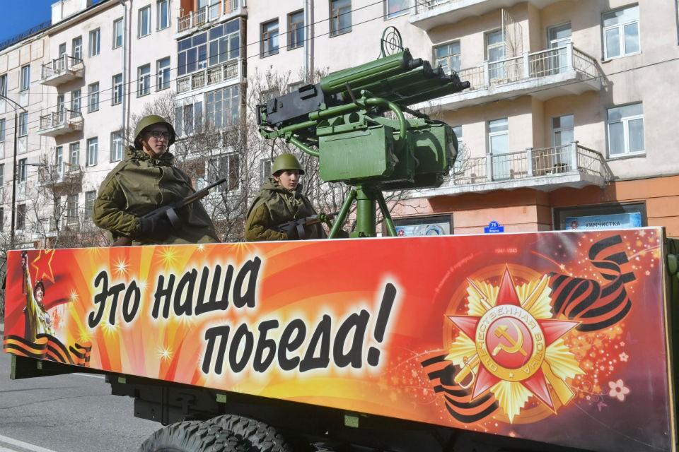 Парад Победы в Мурманске в этом году может пройти без зрителей.