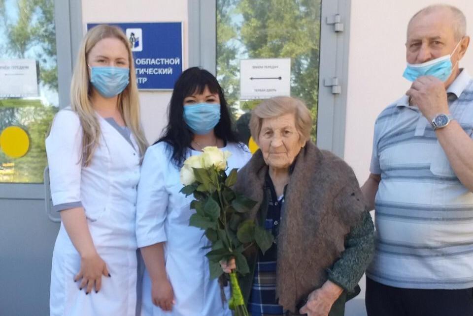 Клавдия Алексеевна избавилась от коронавируса в символичную дату