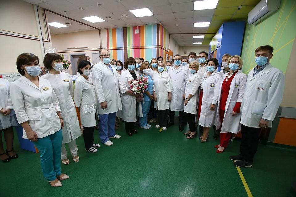 Поздравления детской клинической больницы