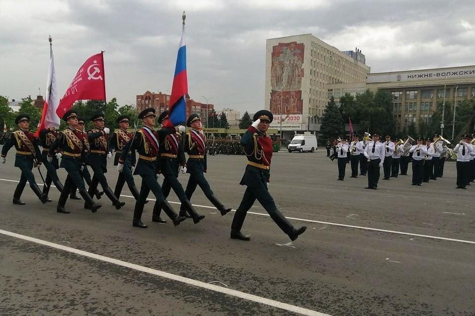 Торжественное шествие прошло в Саратове