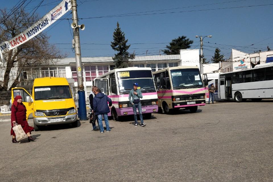 В Крыму восстановлено автобусное сообщение с материком