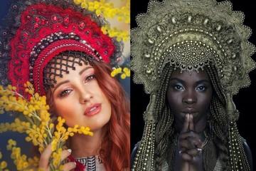 Три килограмма на голове:какделают кокошники, в которых девушки побеждают на конкурсах красоты
