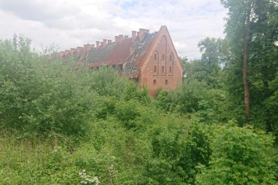 Замок Прейсиш-Эйлау в Багратионовске пытаются продать не первый год, но покупателя никак не находится. И твердыня медленно разрушается.