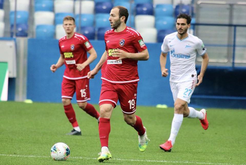 Обзор матча Тамбов - Зенит 1 июля 2020 года: счет, голы, статистика игроков.