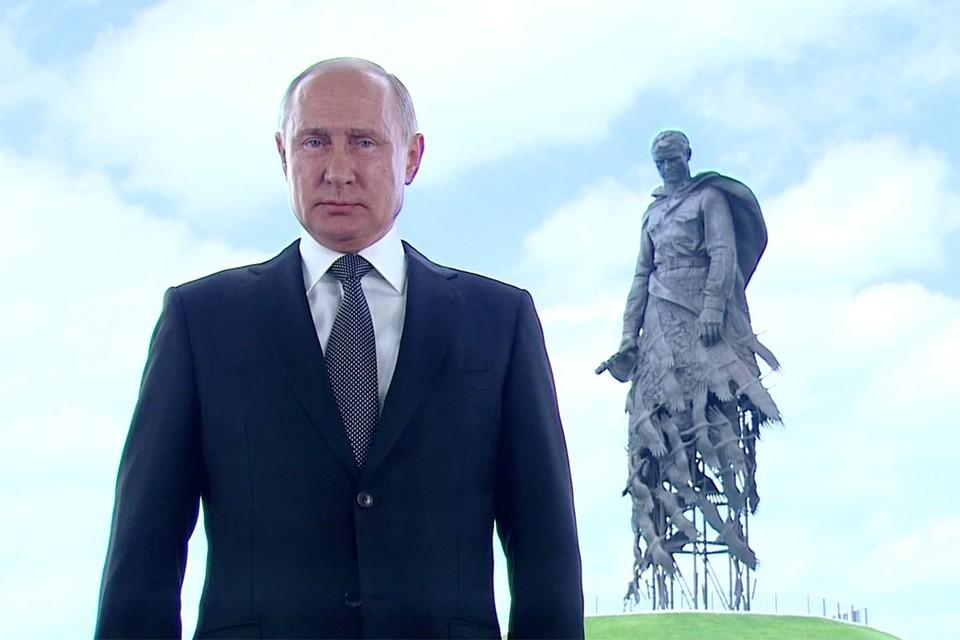 Президент Путин во время обращения к гражданам России 30 июня. Фото: kremlin.ru