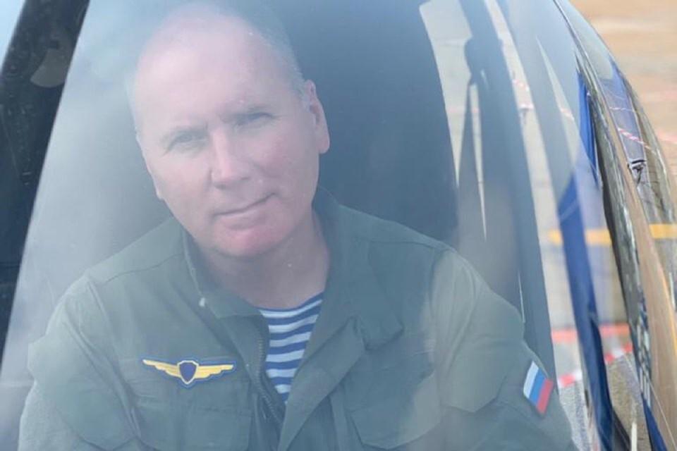 Пилот вертолета спас трех детей на Байкале. Фото: соцсети