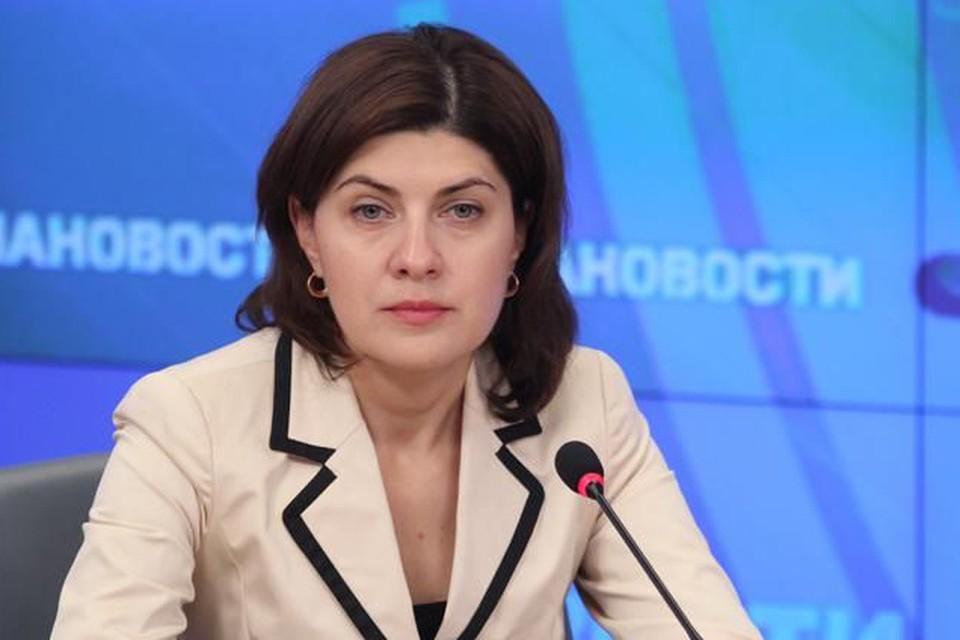 Марина Лукашевич является статс-секретарем — заместителем министра. Фото: minobrnauki.gov.ru