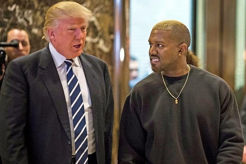 Рэпер Канье Уэст в 2016 году был одним из самых активных сторонников Дональда Трампа