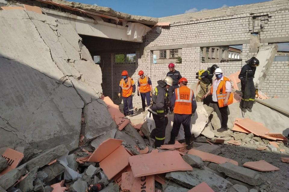 Аварийно-спасательная операция в Зуевке завершилась. Фото: 43.mchs.gov.ru