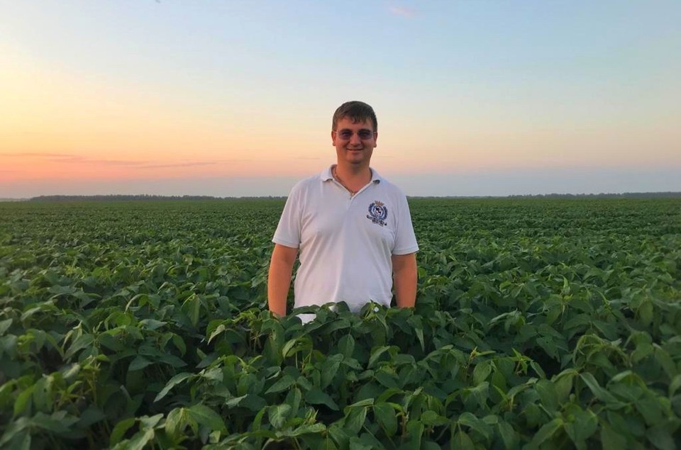 Алексей Гриднев — фермер во втором поколении. Фото: АО «Россельхозбанк»