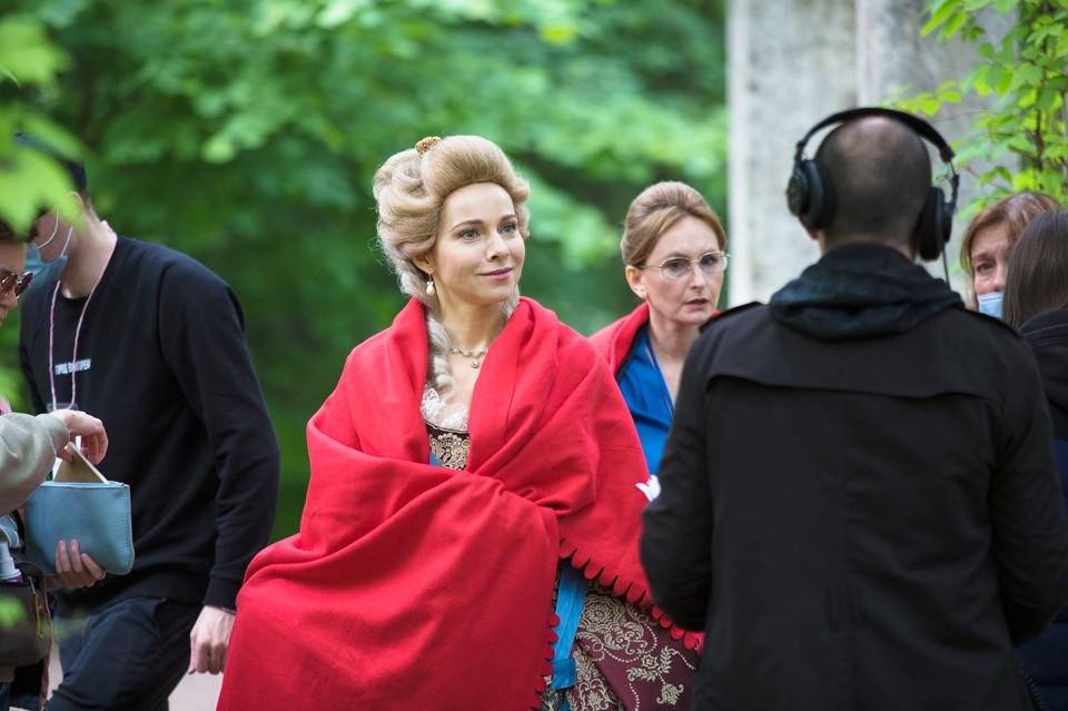 В роли императрицы - заслуженная артистка России Екатерина Гусева. Фото: предоставлено авторами проекта