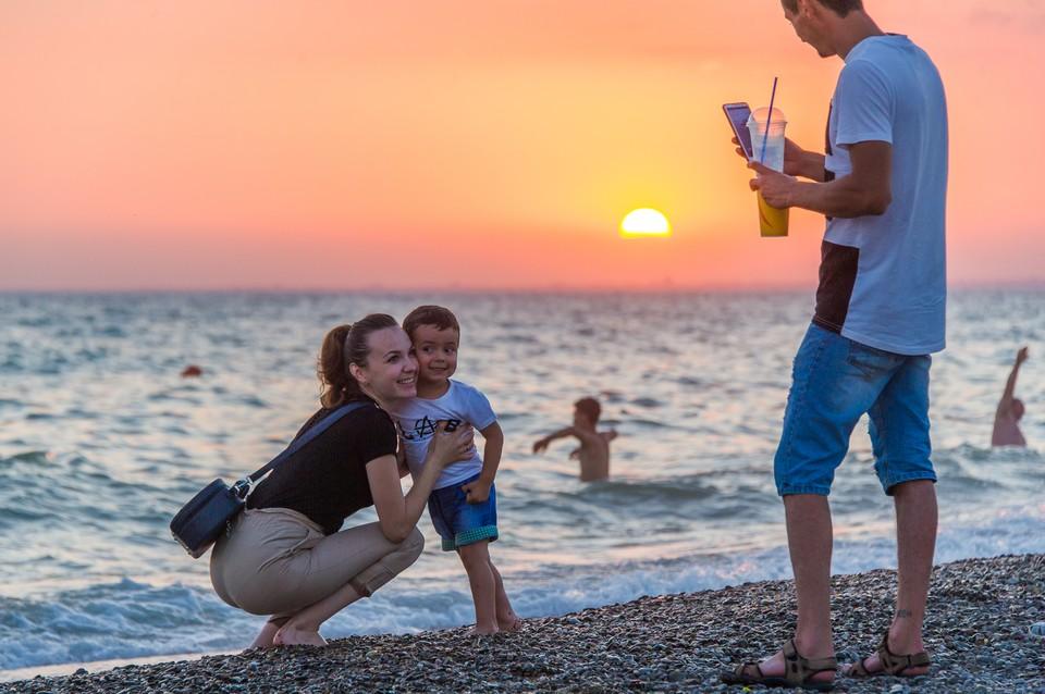 Крым этим летом в лидерах среди семейного отдыха
