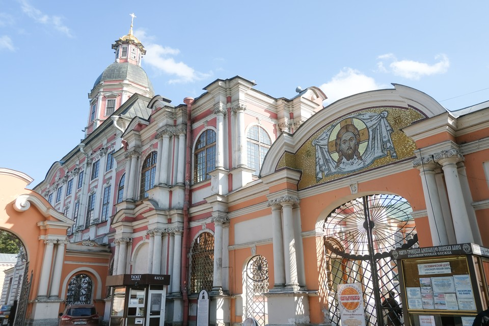 Часть объектов лаврского комплекса приведут в порядок к 800-летию святого Александра Невского