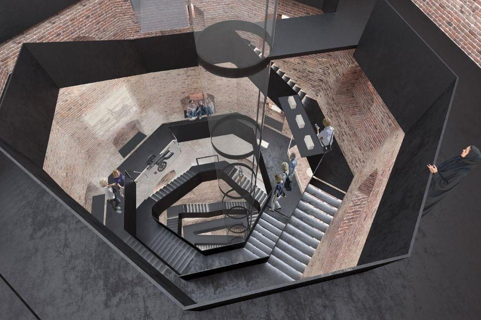 В башне Олафа в Выборгском замке появится лифт. Фото: Администрация Ленобласти.