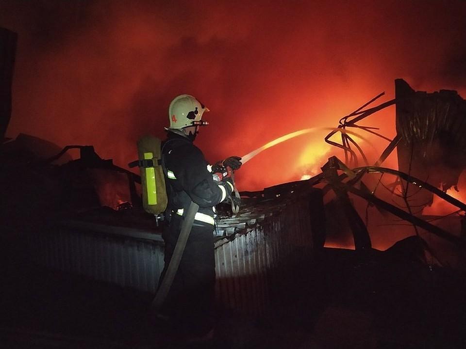 Пожар тушили почти двое суток. Фото: ПСО