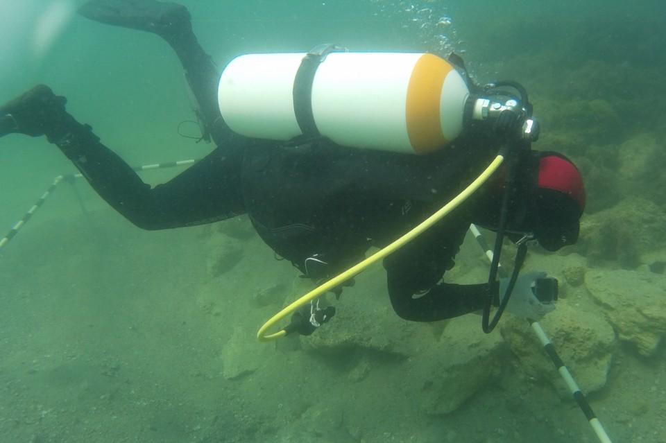 Так проходит обычный рабочий день подводного археолога Фото предоставлено Андреем Букатовым