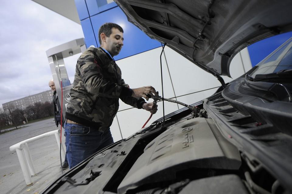 Заправлять газом автомобиль станет в 10 раз дешевле.