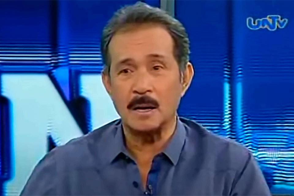 филиппинский политик Фреденил Кастро (Fredenil Castro).