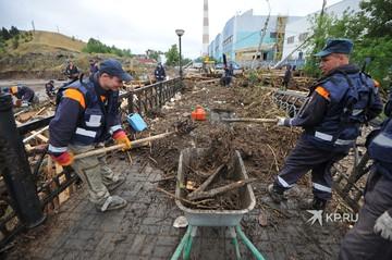 Последствия потопа в Нижних Сергах 20 июля 2020: прямая онлайн-трансляция