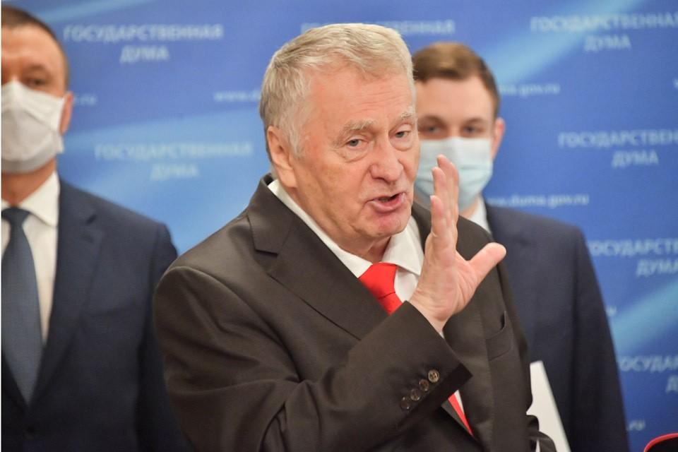 Владимир Жириновский признался что Фургал хотел уволиться сам.