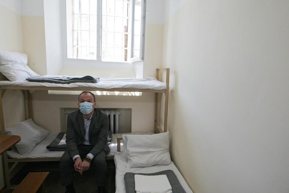 Министр юстиции Украины Денис Малюська посетил киевские тюрьмы