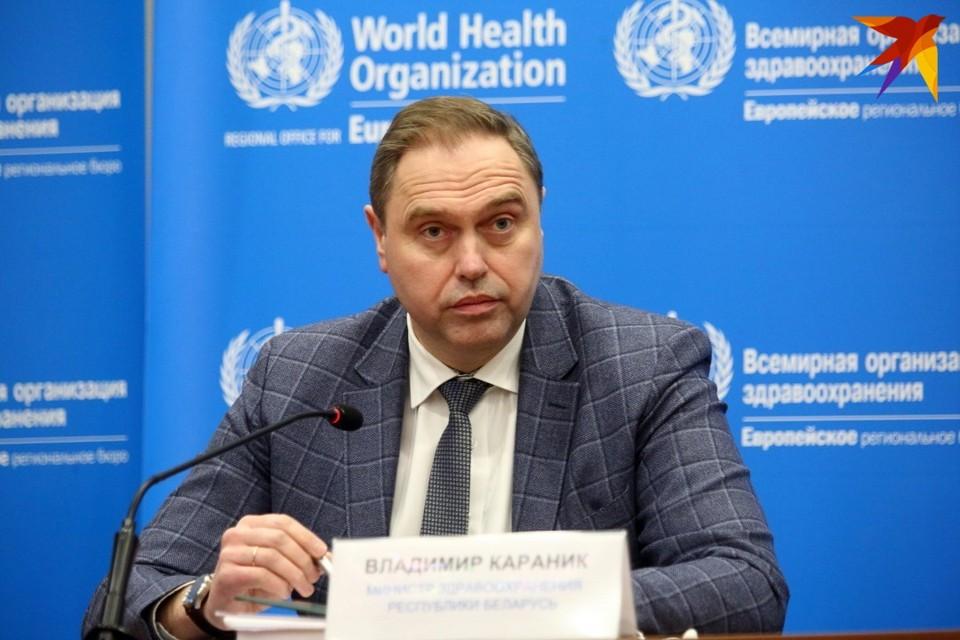 Глава Минздрава не прогнозирует масштабное возвращение коронавируса в Беларуси.