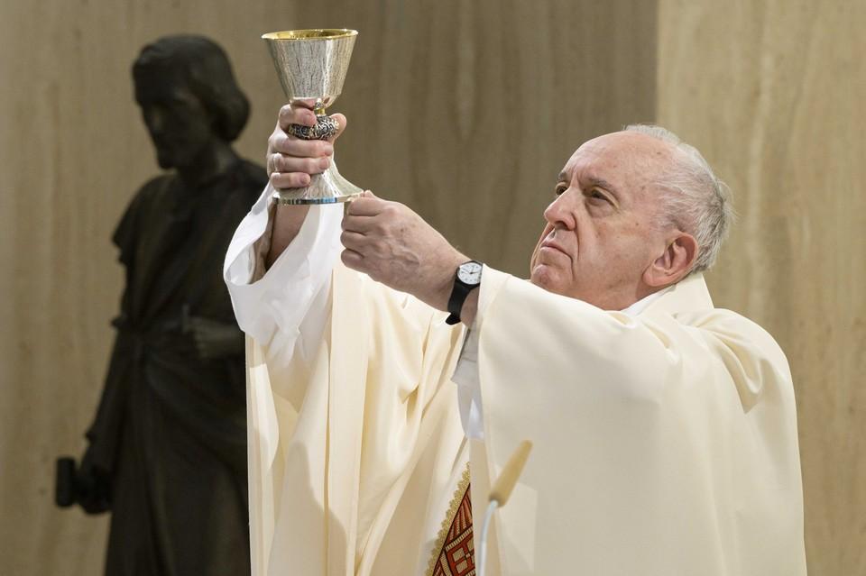 Папа Римский приветствовал соглашение по Донбассу