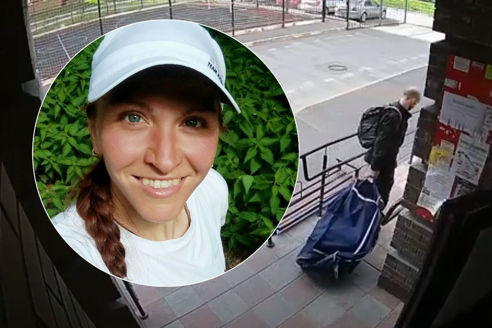 Ярослав Фокин вынес похищенную спортсменку в сумке, запретив ей кричать. Фото: СУ СКР по Новосибирской области.