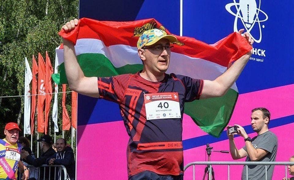 Владислав Шапша пробежал марафон в Обнинске.
