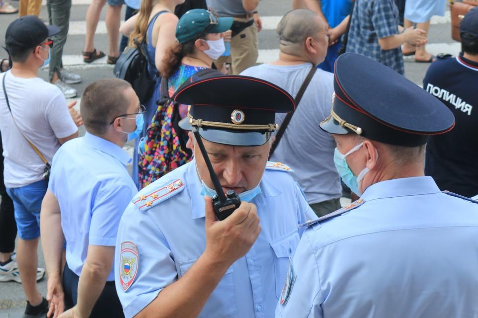 Астраханец подозревается в том, что ударил полицейского