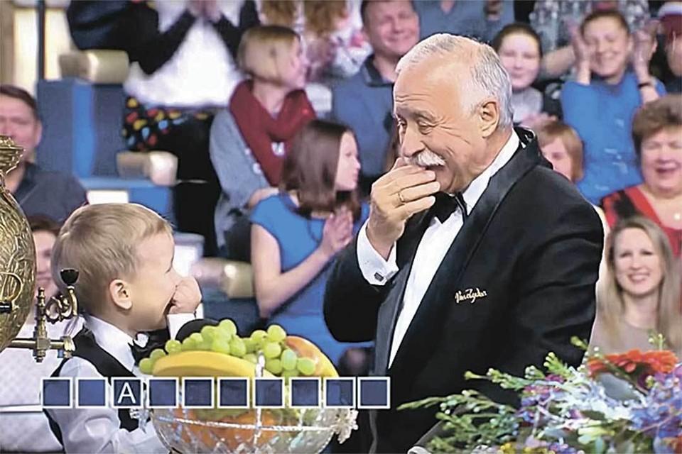 «Поле чудес» превратило Якубовича во всенародного дедушку. Фото: youtube.com
